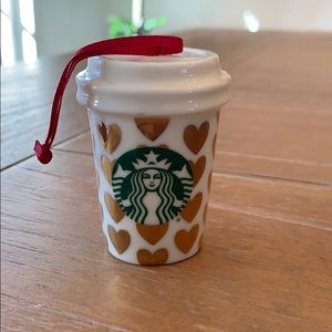 Holidays 2015 Heart Starbucks Ornament